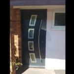 Front door 647 design & bent pull handle