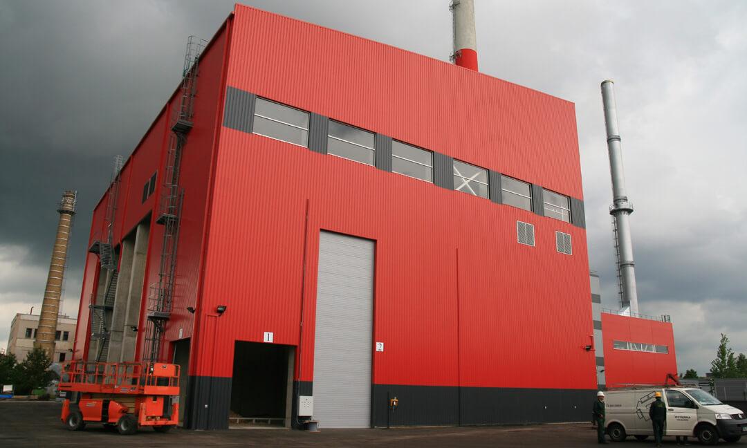 Industrial door 4x11 with direct drive gear