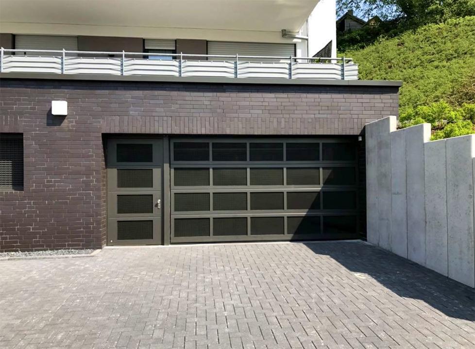 Sectional Garage Door Ventilated Sectional Side Door