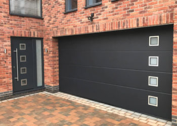 Matching entrance & sectional doors
