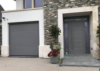 Matching garage & entrance doors