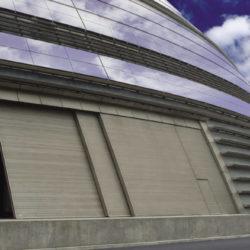 Telescopic side sliding door