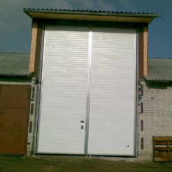 Side hinged 5x10 m
