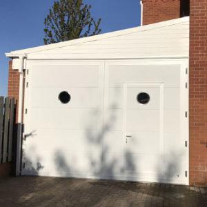 Door 4x3 metres with wicket door