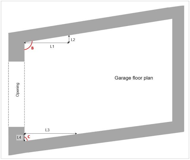 Site Survey - Irregular Shape