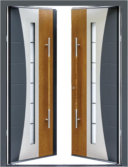 Ryterna aluminium front double door